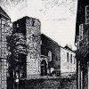 Drabenderhöhe - Zeichnung der zerstörten Kirche 1945