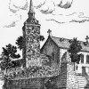 Drabenderhöher Kirche - Zeichnung von 1937
