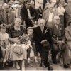 Erntedankfest 1960 Bertha Morosow und Erich Dreibholz